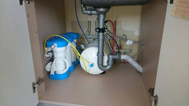 Установка питьевого фильтра Aquacalcium, г.Буча 18