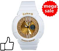 Детские спортивные часы Casio G-shock Baby-G White Gold