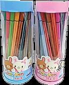 Набор фломастеров для рисования 18 цветов