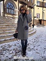 Женское пальто кашемировое