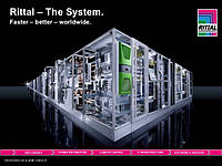 3304500 SK RITTAL TOP THERM PLUS Настінний Холодильний агрегат 1000ВТ 400x950x260 1шт.