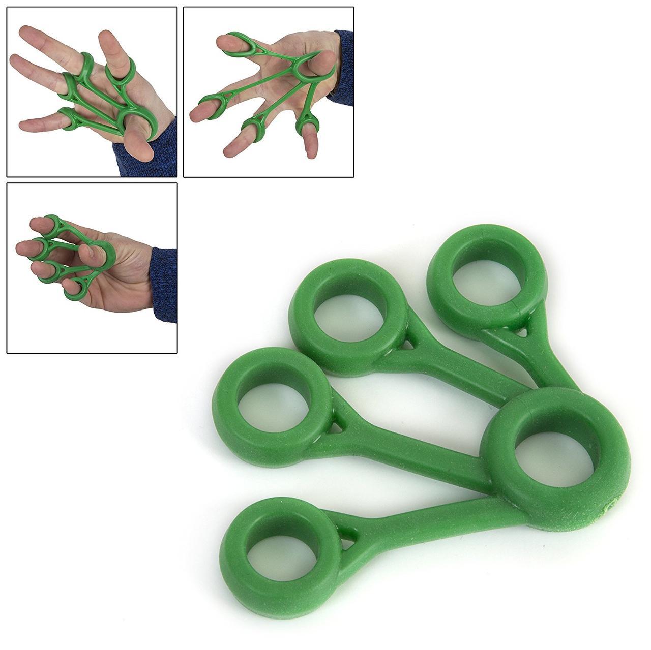 Пальчиковый тренажер OS014 Medium (зеленый)