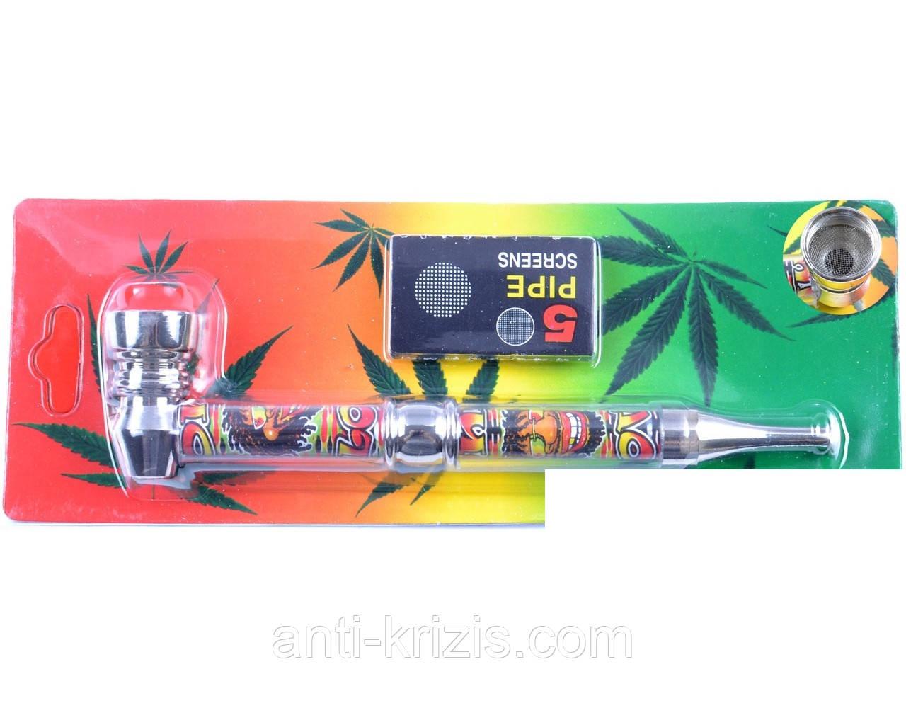 Курительная трубка №4021-1+запасные сетки,высший сорт