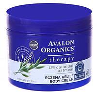 Крем по уходу за кожей с симптомами экземы, 296г, Avalon Organics