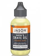 Масло для бритья для жесткой щетины, 60мл, Jason