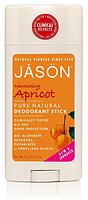 Твердый дезодорант Абрикос, Jason