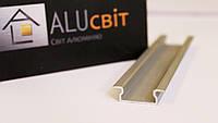 Светодиодный алюминиевый LED профиль ЛПВ7 анодированный серебро (для светодиодных лент)