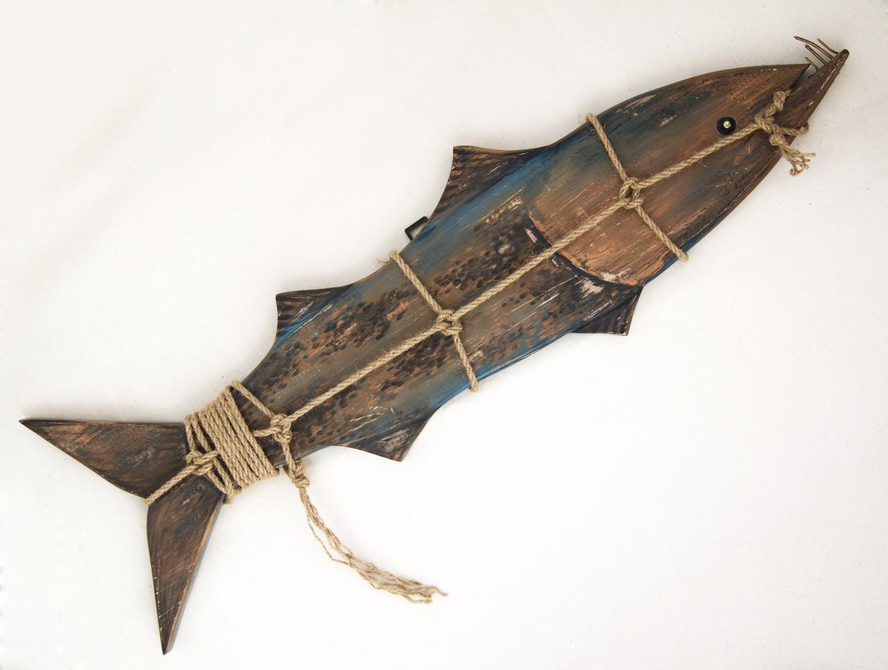 Деревянная рыба Барракуда