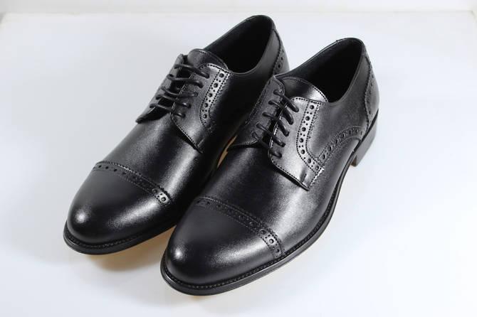 Итальянские мужские туфли оксфорды  42 размер 28,5 см