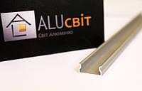Светодиодный алюминиевый LED профиль BLL.1009 анодированный серебро (для светодиодных лент)
