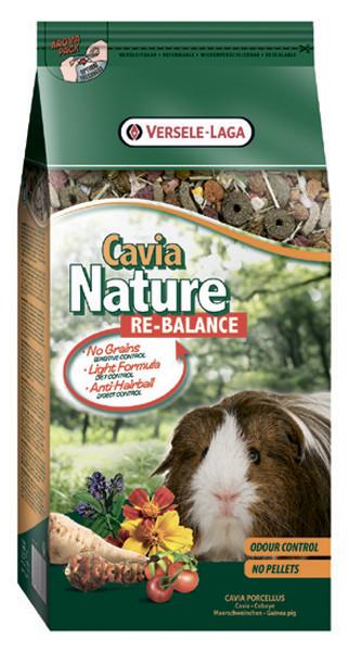 Versele-Laga CAVIA NATURE ReBalance КАВИА НАТЮР РЕ-БАЛАНС 0.7кг - облегченный корм для морских свинок