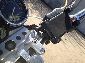 Крепление телефона держатель на руль мотоцикла холдер