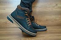 Подростковые зимние ботинки Zangak Черный-коричневый 10444