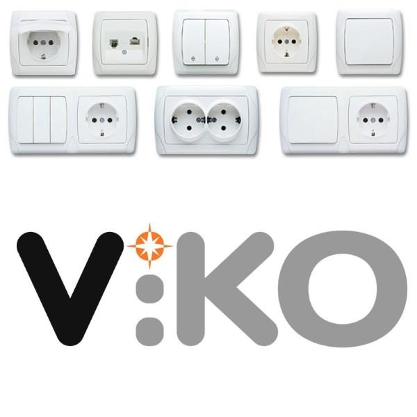 Розетки, выключатели Viko (Турция)