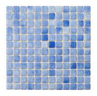 Мозаика стеклянная PW25203 blue