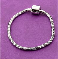 Браслет 'Pandora style' Металл 17 см