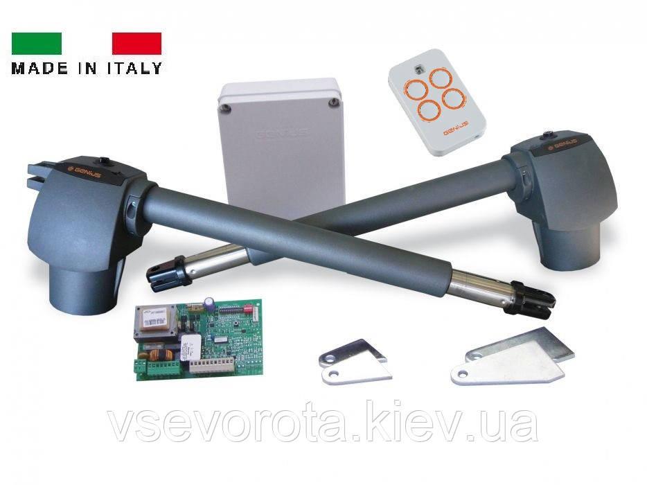 Комплект для распашных ворот G-BAT 400 GENIUS ITALY