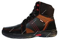 Чоловічі черевики високі на хутрі зимові СБ-11чр