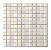 Мозаика стеклянная PL25301  white
