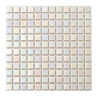 Мозаика стеклянная перламутр PL25305  super white