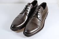Итальянские мужские туфли оксфорды  43 размер 29 см