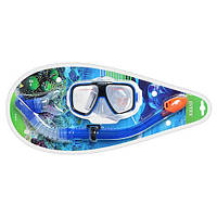 Набор для плавания «Рифовый пловец» (маска + трубка) для детей от 10 лет