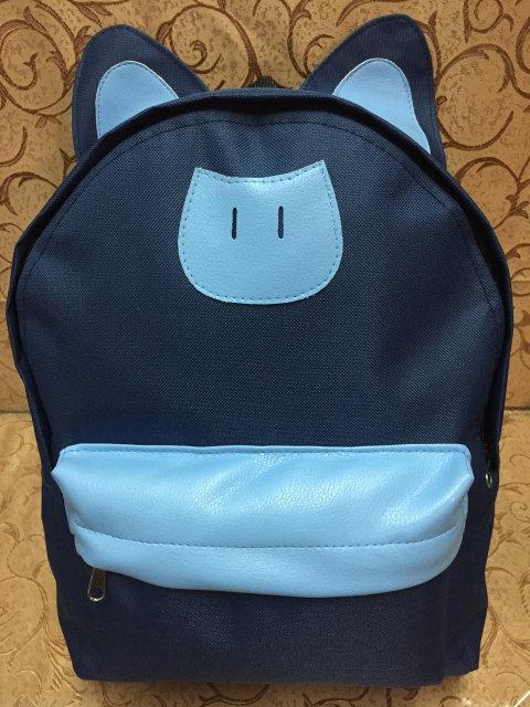 Рюкзак женский Кот. Рюкзак  С ушками