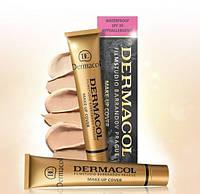 Dermacol Make-Up Cover (Дермакол) Оригинал. Ультраматирующий тональный крем.