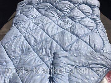 Одеяла двойной силикон. Одеяло двуспальное. Микрофибра. Антиаллергенное. Одела от производителя. MODA blanket, фото 2