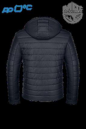 Мужская черная осенняя куртка (р. 46-56) арт. 952А, фото 2