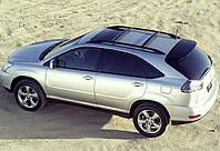 Рейлинги Lexus RX350, Лексус 2003 - 2009 Черные с перемычками