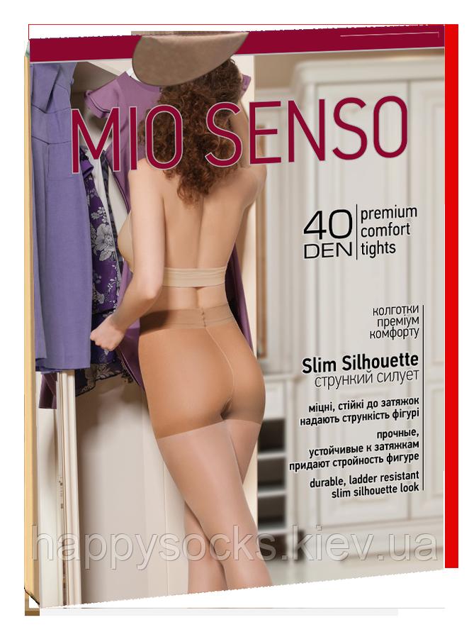 "Колготки ""Mio Senso"" 40 дэн с утягивающими шортиками 5"
