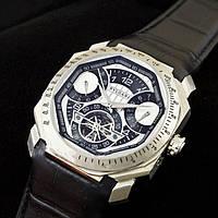 Современные мужские часы Bvlgari. Незаменимый аксессуар для мужчин. Хорошее качество. Доступно. Код: КГ1985