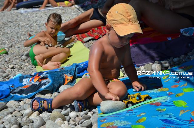 Детский пляжный коврик Декор Океан 8мм