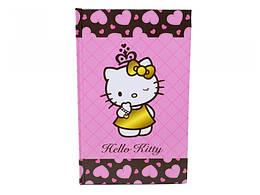 Блокнот тверд. обложка, 80л., А5- Hello Kitty /1/25/50/