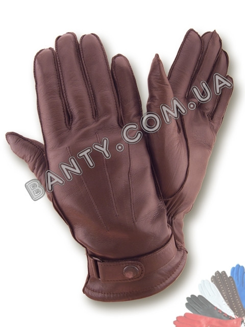 Перчатки мужские на подкладке модель 103