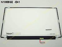 """Матрица для ноутбука 15.6"""" Chimei N156BGE-E41 LED Slim (Глянцевая. 1366*768, Разьем 30Pin eDP справа внизу. Ушки сверху-снизу). Матрица категории A-"""