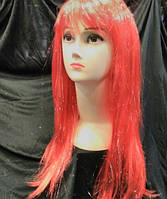 Парик длинный ровные прямые волосы 50 см разные цвета