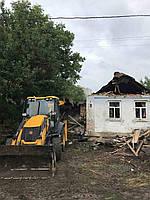 Демонтаж зданий, домов и дач