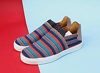Женские кроссовки Adidas x Pharrell Pink Beach Slip on Multicolour