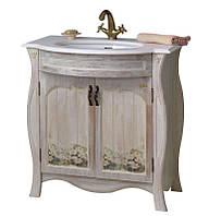 Тумба для ванной с умывальником Ривьера daisy Ольвия