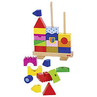 Игрушка goki Пирамидка Замок, детские пирамиды (58915G)