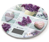 Весы кухонные Vitek Llilac VT-2426 до 5 кг