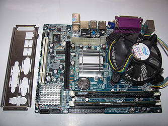 Комплект 2 ядра  / 2Gb Ram  /  Intel  E2200 + кулер/ 2Gb RAM DDR2