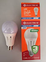 Лампа світлодіодна ELECTRUM A70 20W PA LS-36 Е27 4000 A-LS-1365