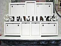 "Мультирамка ""Family"" на 7 фото"
