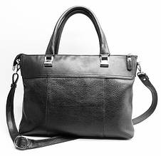 Potere - Черная кожаная сумка