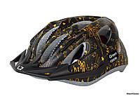 Шлем Green Cycle Fast Five, 50 - 56 см, черно-золотой