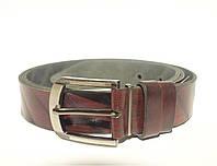 Джинсовый кожаный ремень S_Torri 0440-13 - Джинсовый кожаный ремень 40 мм