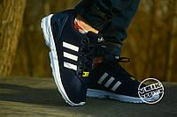 Спортивные кроссовки Adidas Adidas Zx Flux - Сине белые